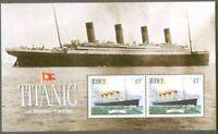 Ireland-Titanic Ship mnh min sheet-issued 1999