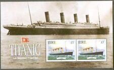 Ireland-Titanic Ship mnh min sheet-