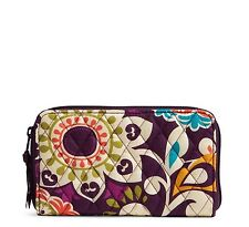 Vera Bradley Exclusive Accordion Wallet in Plum Crazy 14369 137 CO