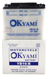 BATTERIA OKYAMI YB16-B 12V 19AH HARLEY DAVIDSON XL / XLH SPORTSTER DE LUXE 883