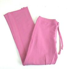 PINK Cotton Spandex Boyfriend Style Pink S Athletic Workout Sweatpants
