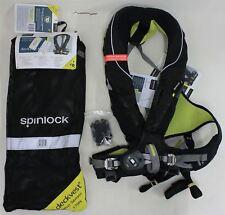 NEW SPINLOCK Deckvest 5D 170N Pro Sensor Harness Lifejacket w Expired Firing Pin