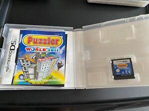 Puzzler World 2011 (Nintendo DS, 2010)