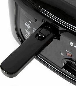 Swan Square Fryer 2.5L - Black (SD6080BLKN)