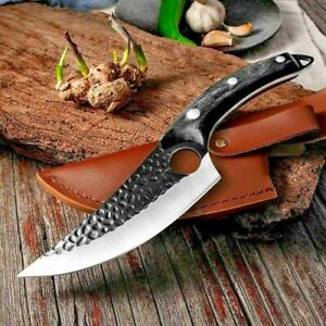 Mus™️ Viking Forged Knife Original Kitchen Serbian Camping Outdoor Knives Hunter