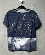 DRIES VAN NOTEN - Printed Light-weight Cotton Top - Collab w/ James Reeve photo