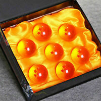 7pcs 1.8 inch Stars Dragon Ball Z Crystal Balls Set Collection In Box Set Gifts
