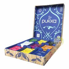 Coffret sélection thés tisanes bio Pukka Herbs box cadeau