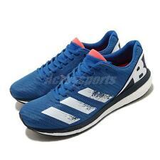 adidas Adizero Boston 8 M BOOST Glow Blue White Running Shoes Sneakers EG7895