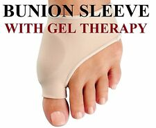 Bunion Sleeves Silicone Gel Protector Pads Pain Relief for Calluses, Bunions