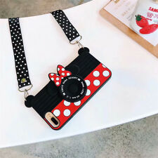 2018 3D Cartoon Minnie Mickey Camera Phone Case For iPhone XS Max XR 6 7 8 Plus