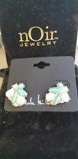 Nicole Miller Turquoise Studded Earrings FabFitFun