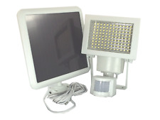108 SMD LED Outdoor Solar Powered Motion Sensor Activated Security Light - White