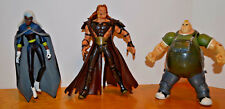 MARVEL TOYBIZ X-MEN EVOLUTIONS LOT OF 3 ACTION FIGURES BLOB STORM SABRETOOTH 6""