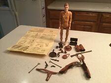 Vintage Louis Marx Johnny West Action Figure Complete W Accessories & Manual