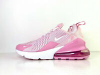 Nike Air Max 270 GS Trainers Pink White UK 4.5 EUR 37.5 US 4.5Y CV9645 600