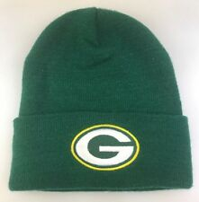 Logo Athletic Green Bay Packers Ski Hat Cap Cuff Winter Snow Beanie