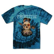 Brand New Mens Primitive Apparel World Tour Die Dye T-Shirt Blue