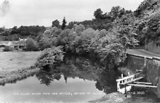 Bridge of Allan : The Allan Water from the New Bridge : card no D. 3800