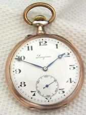 alte Taschenuhr  Longines Silber 800/-