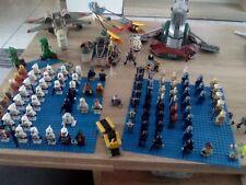 Lego Star Wars Sammlung kg 94 Figuren Raumschiffe Slave1 X Wing Y Wing uvm