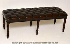 Mahogany Victorian Antique Benches