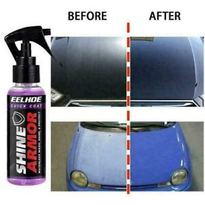 Shine Armor Fortify Quick Coat Ceramic Coating 3 in 1 Hydrophobic Car Wax 120mL