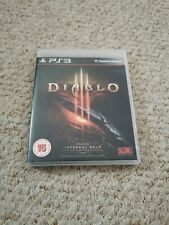 Diablo III 3 Sony PlayStation 3 PS3 Video Game Complete Manual Free Shipping
