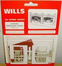 Wills SS18. Station Forecourt Shops Kit. NEW (00 Gauge)