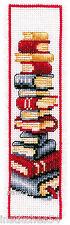 Vervaco Cross Stitch Kit Books Bookmark