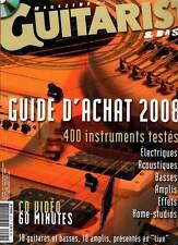 GUITARIST & BASS #HS25 Guide Achat 2008 (revue) + DVD