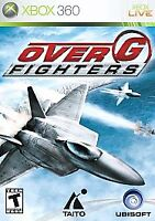 Over G: Fighters (Microsoft Xbox 360, 2006) Disc Only, Tested