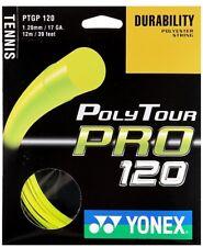 Yonex Poly Tour Pro 17g + Babolat Synthetic Gut 16g Hybrid set