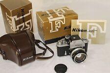 Nikon F photomic Tn  # 68XXXX w/ Nikkor 50mm 1,4 mm  Minty , Boxed