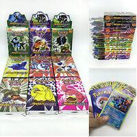 25pcs Set Pokemon EX Card All MEGA Holo Flash Trading Cards Charizard Xmas Gift