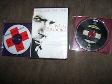 (3) DVD/Movies Mr Brooks, O Brother & Bringing Out the Dead