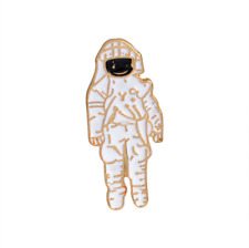Astronaut Space Man Enamel Pin. Badge/Brooch Vintage/boho/90s/blogger Accessory