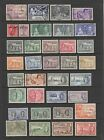 British Commonwealth KGVI fine used collection 143 stamps