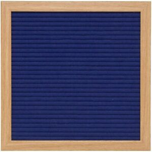 Blue Felt Letter Board 10x10 inches. Includes 290 Changeable Letters & Symbols