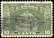 1934 Used Canada F-VF Scott #209 10c Loyalists Issue Stamp