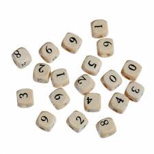 In Größe 10 mm - 10,9 Holzperlen Perlen, Schmucksteine & -kugeln