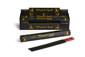Stamford Premium Wizards Spell Hex Incense Stick 6 Pack - Total 120 Stick