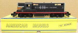 American Models SP/Southern Pacific GP-9 Diesel Engine #5626 S-Scale DC Hi-Rail
