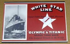 RMS Titanic 100 Years Commemorative Artifact 2nd Class Chair Fabric Chase Card