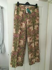 H&M Conscious collection William Morris patterned trousers - 14 New with tags