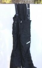 SPYDER Insulated Ski Snowboard Bib MEN'S Small Black
