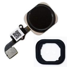 iPhone 6S Home Button Flex Kabel ID Sensor Touch Ersatz Menü Taste Gummi schwarz