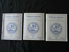 """3 1991 """"Tennessee Ancestors, Books of East Tennessee Historical Society"""""""