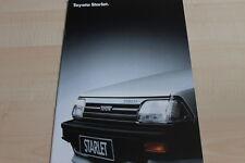 117455) Toyota Starlet Prospekt 12/1986