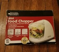 Kitchen Gourmet Electric Food Chopper New but Box Opened